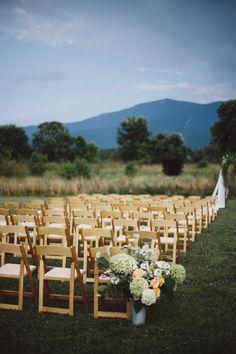 Khimaira Farm Wedding in Virginia Sarah Culver Photography 7 275x413 Rustic Farm Wedding Ceremony in Virginia: Libby + Joe