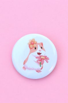 Guinea pig pin with flowers Cute Guinea Pigs, Brighten Your Day, Funny Cute, Cute Animals, Things To Come, Wallpapers, Flowers, Gifts, Bloemen