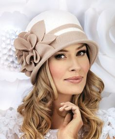 ALISON Winter Hat Elegant, embellished and super comfortable, the Alison is the perfect choice of ha Fascinator, Headpiece, Estilo Beatnik, Hats For Short Hair, Flapper Hat, Stylish Hats, Church Hats, Fancy Hats, Wearing A Hat