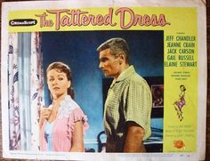 "THE TATTERED DRESS Vintage Movie Lobby Card 1957 11"" x 14""  Universal Picture"