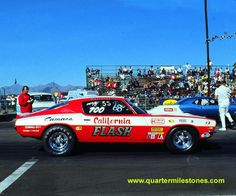 Vintage Drag Racing - Pro Stock - The California Flash