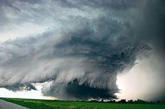 Storm Shelf cloud, Alvo, Nebraska