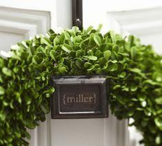 Ella Adjustable Door Wreath Hanger | Pottery Barn