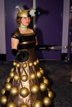 Dalek Doctor Who Cosplay, Dalek, Tardis, People, How To Wear, Fashion, Moda, Fashion Styles, People Illustration