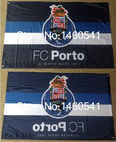 FC Porto Flag 3ft x 5ft Polyester Portuguese Sports Clubs Banner Flying Size No.4 144* 96cm QingQing Flag