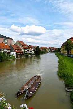 #Bamberg ... which is pronounced 'bumbag'!  Seriously!