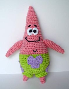 Amigurumi Patrick Star : 1000+ images about bob sponge on Pinterest Bobs ...