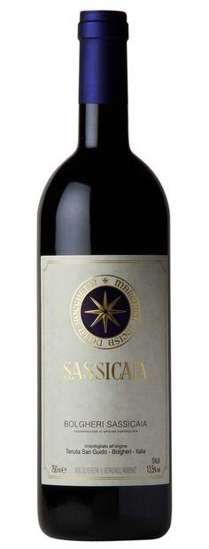 Tenuta San Guido, Sassicaia- taglio bordolese, Maremma, Toscana