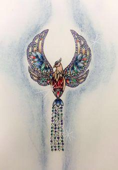 Şık bir anka kuşu broş tasarımı... #jewelrydesign #jewelry #design #drawing #anka