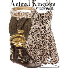 Animal Kingdom, created by lalakay on Polyvore #disney