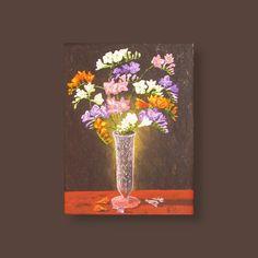 Fresia's by Gerber Art - fine Art & more Price: 60 € plus shipping consts Please share! Tag a friend who may love it. Thanks.  #Leinwandbild #Leinwandkunst #Leinwandmalerei #Pinselmalerei  #Pinselstrich  #Startupartist #Startupartists #Startupaustria #Mittagskogel #Mittagskogel🏔️ #Finkenstein #Latschach #Artaustria  #gerberartat Tobias, Most Famous Paintings, Winter Landscape, Still Life, Animal Pictures, Tatting, Fine Art, Free Shipping, Canvas