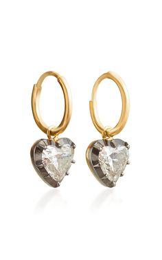 6c91bb0fb5e7 Diamond hoop Earrings White Gold Diamond Earrings