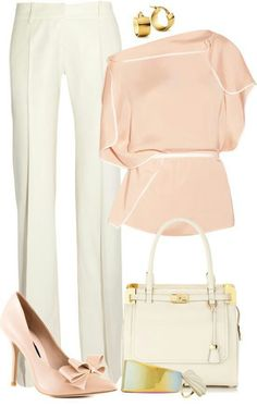 Love the unusual like this blouse, don't mind the belt if the top is flowy enough to pull out a little. I love the Salmon look, it's fresh