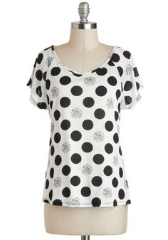 I'm exceptionally fond of Jewel Never Know Tee. Check it out on ModCloth.com!