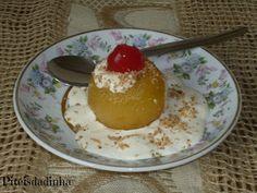 Piteisdadinha: DOCE DE MAÇÃ NA PRESSÃO ( c/maçãs bem pequenas int...