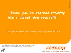 Ad 5 in self-created campaign in FATAAQ series, this time for street dogs...