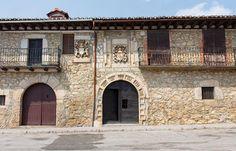 Casa de los escudos en Arauzo de Miel