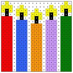 KleuterDigitaal - wb kralenplank kaarsen