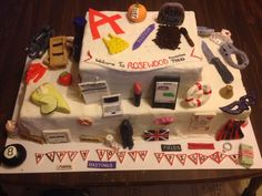 We are in love with this A-mazing #PLL cake by @PLLfreaks13!!