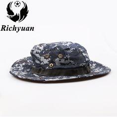 e3c31791 Camouflage Bucket Hat With String Summer Men Women Fisherman Cap Military  Panama Safari Boonie Sun Hats Cap [orc32867252608] - $23.10 : PopNobility