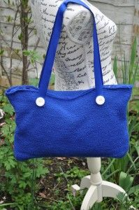 Crochet Tote Bag, pattern and kit available