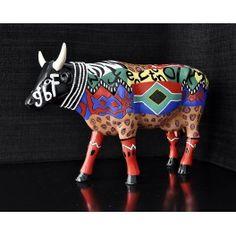 Vache CowParade Lobola - Castor & Pollux