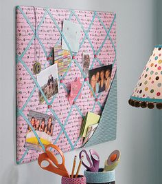 French memo board tutorial... or perhaps we could say 'memory board' :)