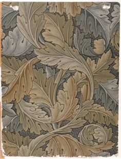 Acanthus - wallpaper by William Morris - 1919