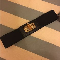 Black cinch belt Black cinch belt in size small Accessories Belts