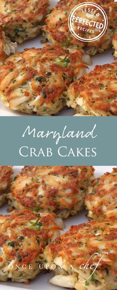 Maryland Crab Cakes with Quick Tartar Sauce - Once Upon a Chef