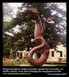 New Artwork landed yesterday at the Coronado Library