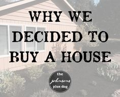 Deciding to Buy a House | Home Buying Tips