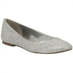Kim by Colorful Creations Silver - Ballet Flats