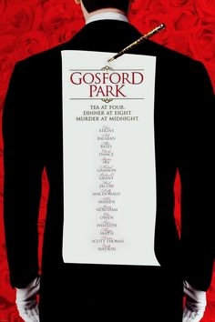 Gosford Park (2001) - Before Downtown Abbey, there was Gosford Park. Both written by Julian Fellowes. Both star the incomparable Dame Maggie Smith. Both explore class struggle and the separate worlds--upstairs and downstairs--of life in the English countryside at a time when the British aristocracy and Empire were nearing the end of an era. Must-see from director Robert Altman. Great cinematography and camera work.