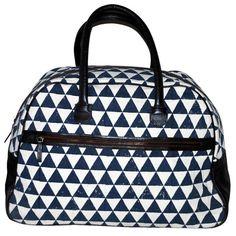 Rising Tide Fair Trade Pyramid Weekender Bag - Navy