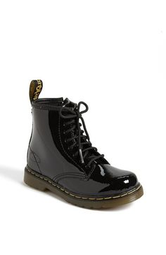 Free shipping and returns on Dr. Martens Boot (Toddler & Little Kid) at Nordstrom.com. A patent finish amps up a signature chunky boot with a comfy cushioned sole.