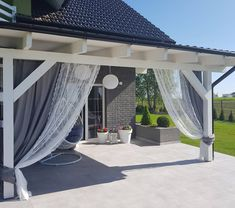 An astounding patio roof, commonly known as pergola provides shelter from sun, wind, and rain. A well-built pergola deck plan amazingly extends the home's … Deck With Pergola, Backyard Pergola, Pergola Shade, Pergola Plans, Backyard Landscaping, Gazebo, Pergola Kits, Pergola Ideas, Cheap Pergola