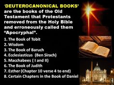 Deuterocanonical Books
