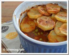 Crispy Potato Topped Meat Pie | Slimming Eats - Slimming World Recipes