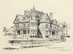 Design for the Scotten Residence, Detroit