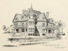 Design for the Scotten Residence, Detroit