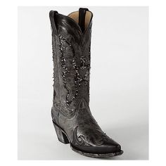 Corral Sequin Eagle Boot found on Polyvore featuring polyvore, fashion, shoes, boots, black sequence, black boots, black western boots, tall cowboy boots, western boots and corral boots