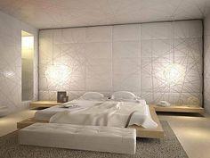 Dutch Garden Design via Studio G bed. Modern Bedroom, Bedroom Decor, Bedroom Ideas, Bedroom Stuff, Dream Bedroom, Master Bedroom, Free Interior Design, Bedroom Layouts, Platform Bed
