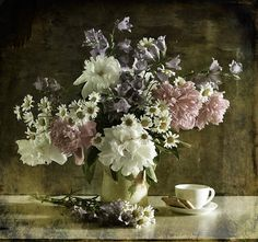 Photography still life flowers coffee by  applegreen  nothing more beautiful than flowers in the morning