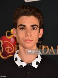 Actor Cameron Boyce attends the premiere of Disney Channel's 'Descendants' at Walt Disney Studios on July 24, 2015 in Burbank, California.