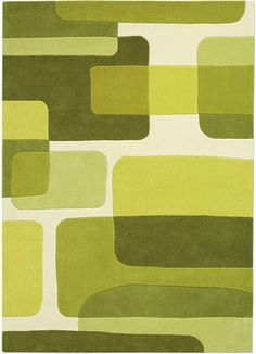 Contemporary Area Rugs | ... -63 Green Rug from the Pop Art Rugs II collection at Modern Area Rugs
