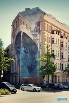 one of the most amazing street arts, Berlin @Chris Cote Kopacz