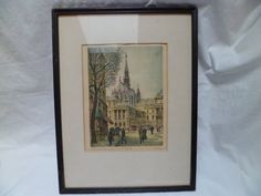 French Artist Barday Paris Palace of Justice by thelongacreflea, $72.00