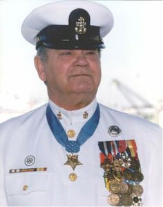 Vietnam War Congressional Medal of Honor Recipient Boatswain's Mate First Class James Elliot Williams, US Navy