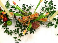DIY Fall Centerpieces   Nature Inspired   Bright Bold and Beautiful